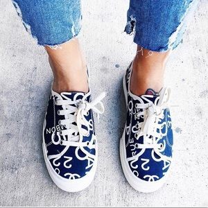 ☁️ authentic CHANEL canvas sneakers ☁️